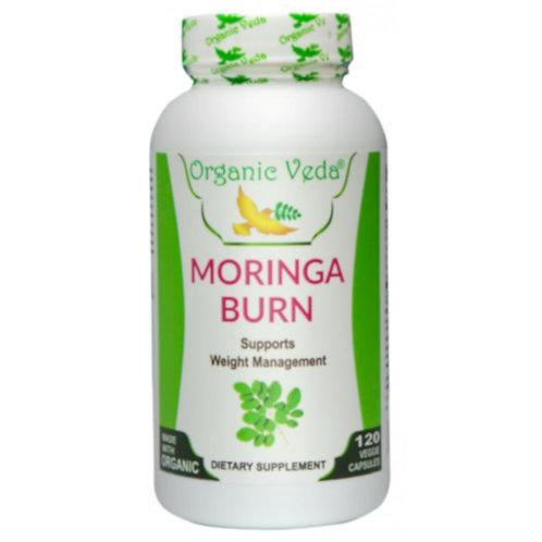 Organic Veda Moringa Burn (120 Capsules)
