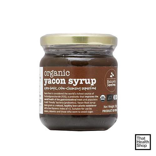 Nature's Superfoods Organic Yacon Syrup (250g)