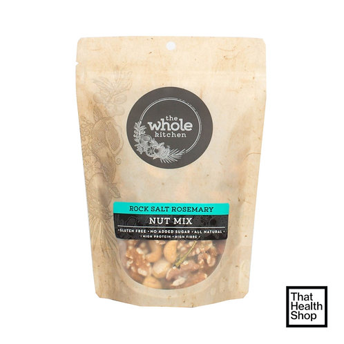 [Batch Exp - 6/21] The Whole Kitchen Rock Salt Rosemary Nut Mix (270g)