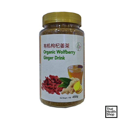 [Batch Expiry June 2021] Nature's Choice Organic Wolfberry Ginger Drink (450g)