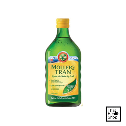Moller's Cod Liver Oil Natural (250ml)
