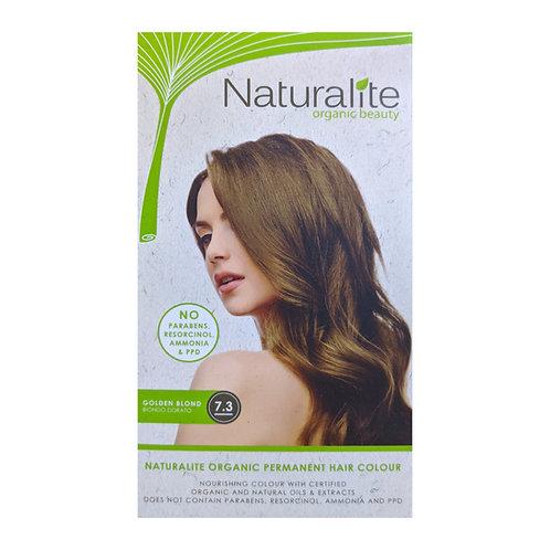 Naturalite Organic Permanent Hair Colour 7.3 (Golden Blond)