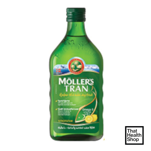 Moller's Cod Liver Oil Lemon (250ml)