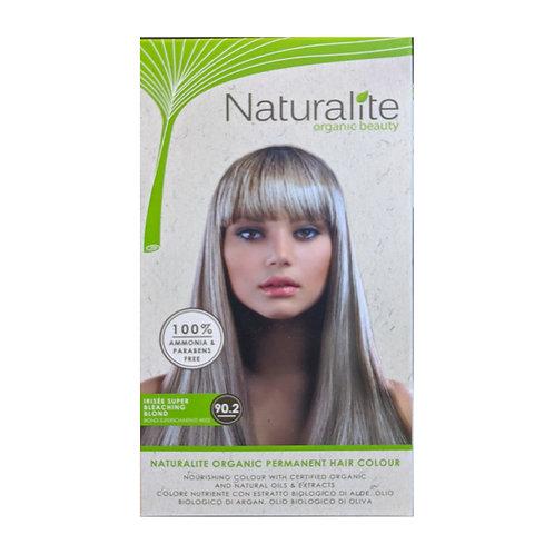 Naturalite Organic Permanent Hair Colour 90.2 (Irisee Super Bleaching Blond)