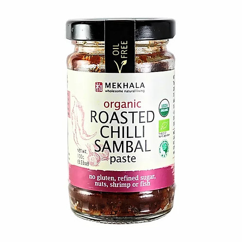 Mekhala Organic Roasted Chilli Sambal Paste (100g)