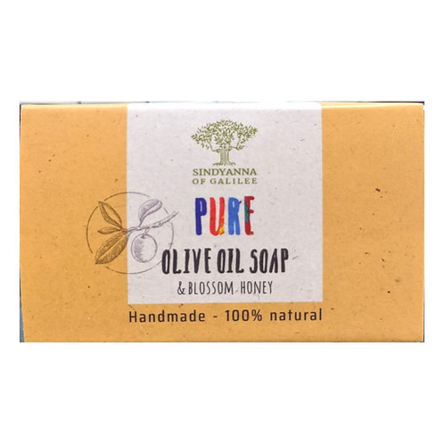 Sindyanna of Galilee Pure Olive Oil Soap, Blossom Honey 100g