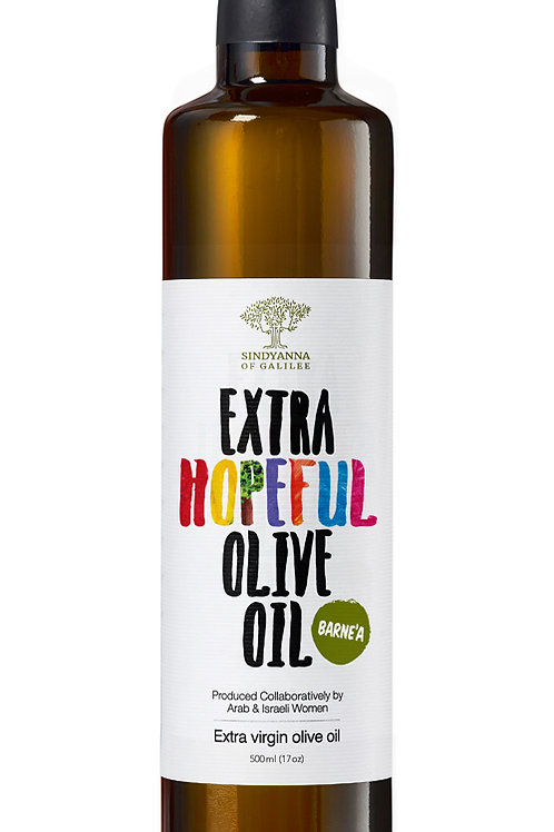[Ex Jan22] Sindyanna of Galilee Extra Virgin Olive Oil (Hopeful - Barne'a)-500ml