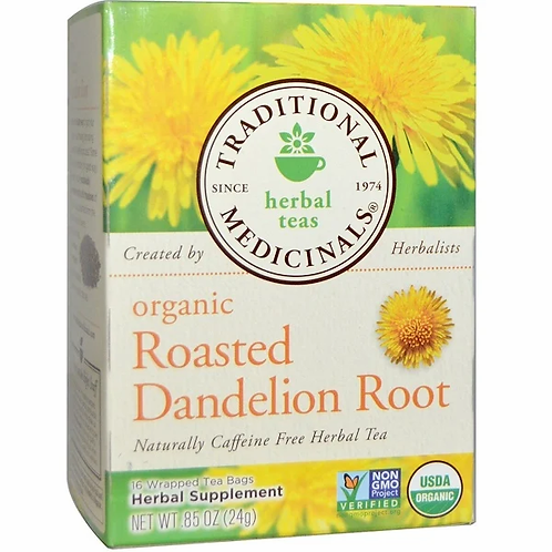 Traditional Medicinals, Organic Roasted Dandelion Root Tea (16 Sachets)