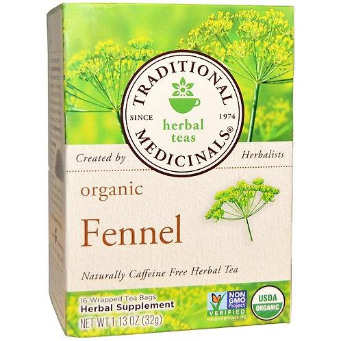 Traditional Medicinals Organic Fennel Tea (16 Sachets)
