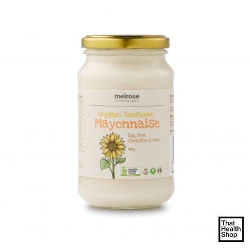 Melrose Organic Sunflower Mayonnaise (365g)