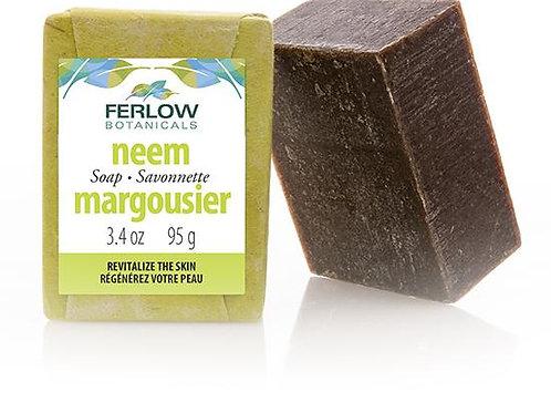 Ferlow Botanicals Neem Soap Bar (95g)
