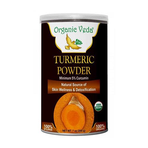 Organic Veda Turmeric Powder 5% Curcumin(200g)(200g)