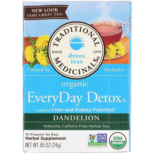 Traditional Medicinals, Organic EveryDay Detox Tea, Dandelion (16 Sachets)
