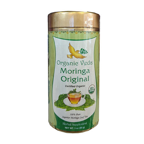 Organic Veda Moringa Original Tea Leaves (85g)