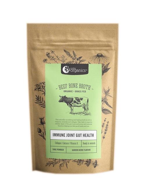 Nutra Organics Beef Bone Broth Garden Herb (100g)