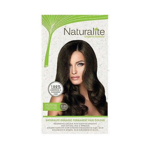 Naturalite Organic Permanent Hair Colour 5.01 (Ash Natural Light Brown)