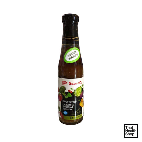 [Clearance - Expires Sep 2020] Sauce Co Japanese Mustard Dressing (240ml)
