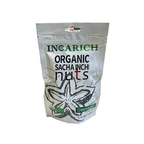 Sacha Inchi Incarich Organic Sacha Inchi Nuts (60g)