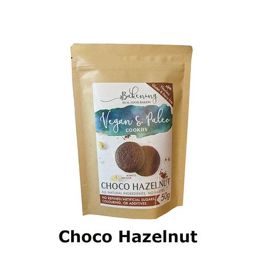 Bakening Vegan and Paleo Cookies - Choc Hazelnut (50g)