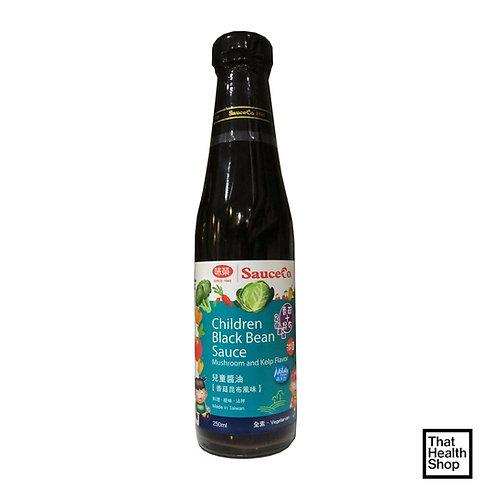 Sauce Co Children Black Bean Sauce - Mushroom and Kelp Flavour (250ml)