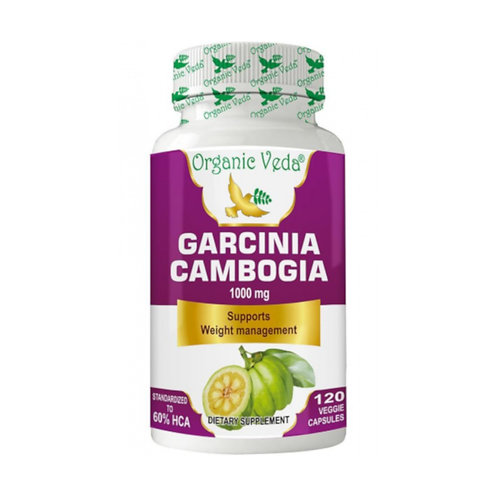 Organic Veda Garcinia Cambogia (120 Capsules)