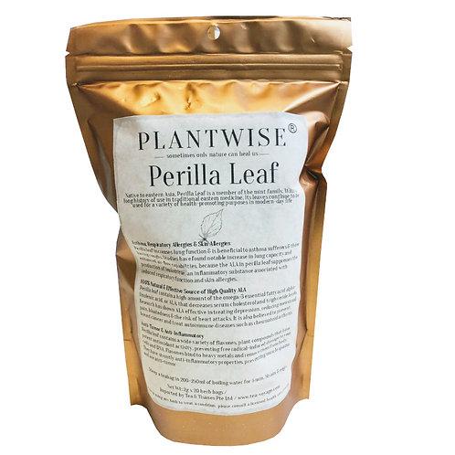 Tea Voyage Plantwise Perilla Leaf (2g x 20 Herb Bags)