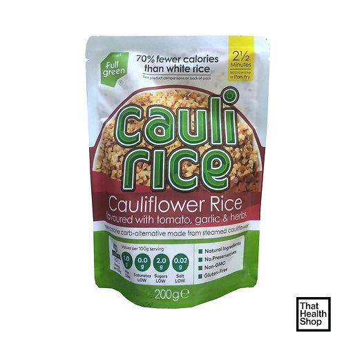 Fullgreen Cauli Rice Cauliflower Rice With Tomato, Garlic & Herbs (200g)