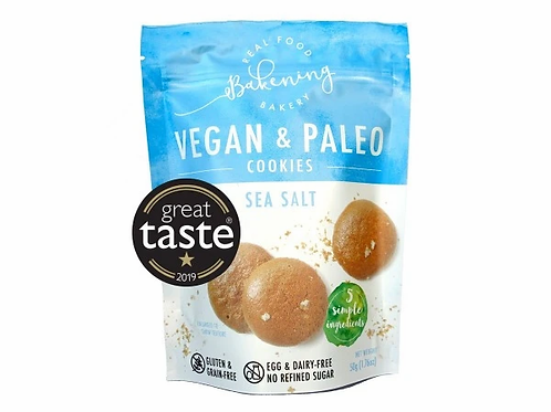 Bakening Vegan and Paleo Cookies Sea Salt Crunch 50g