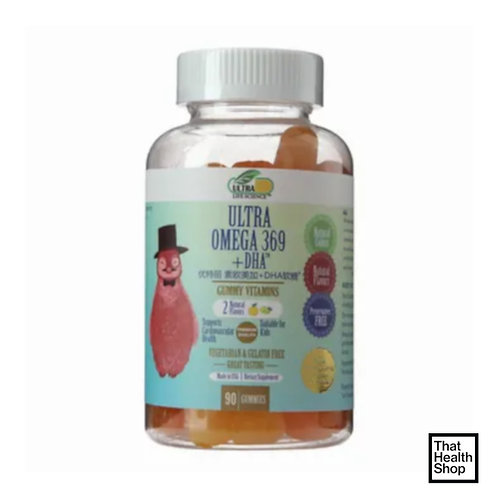 Ultra Life Science Ultra Omega 369+DHA (90 Gummies)