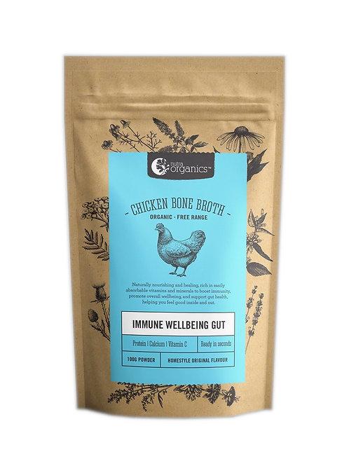 Nutra Organics Chicken Bone Broth Homestyle Original (100g)