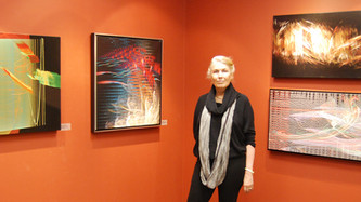 Exhibition of Digital Paintings at the Dillon Gallery