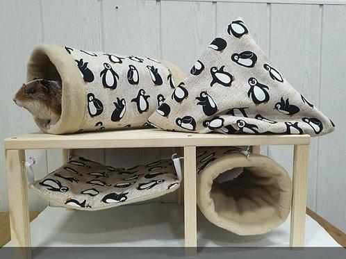 Kuschelset Pinguine