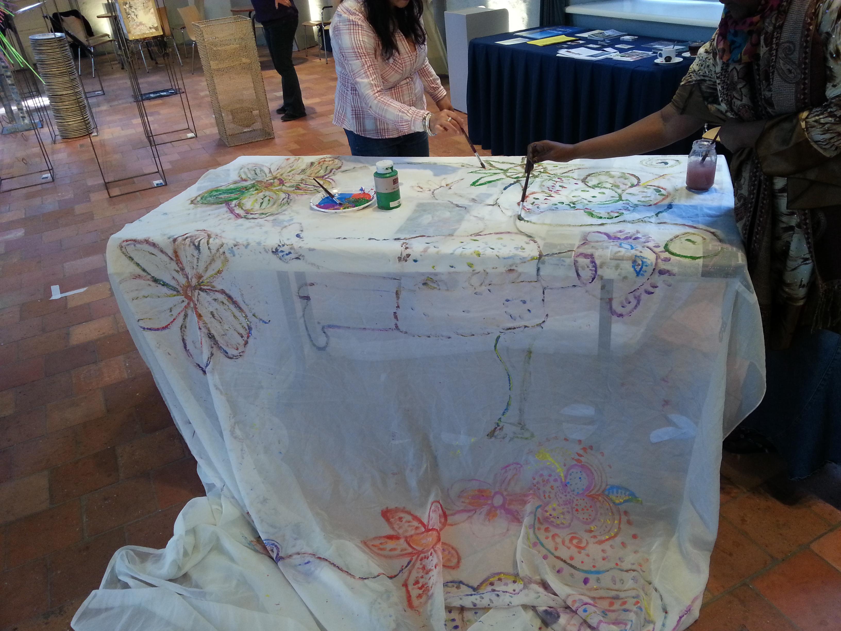 Workshop tijdens Atelierroute