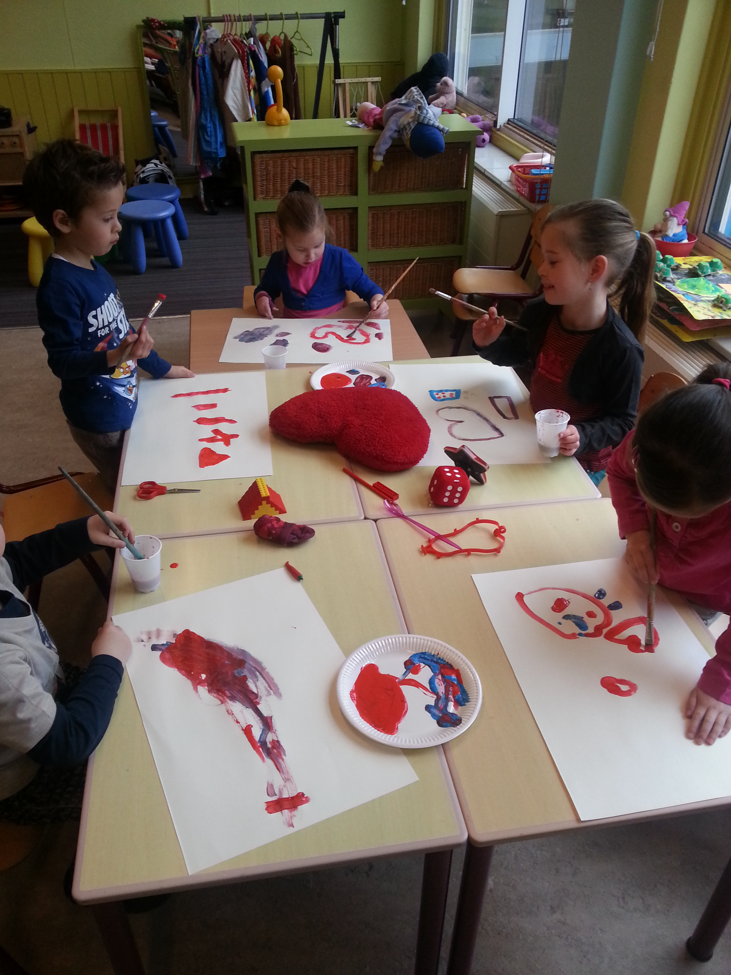 Workshop 'Primaire kleuren mengen'