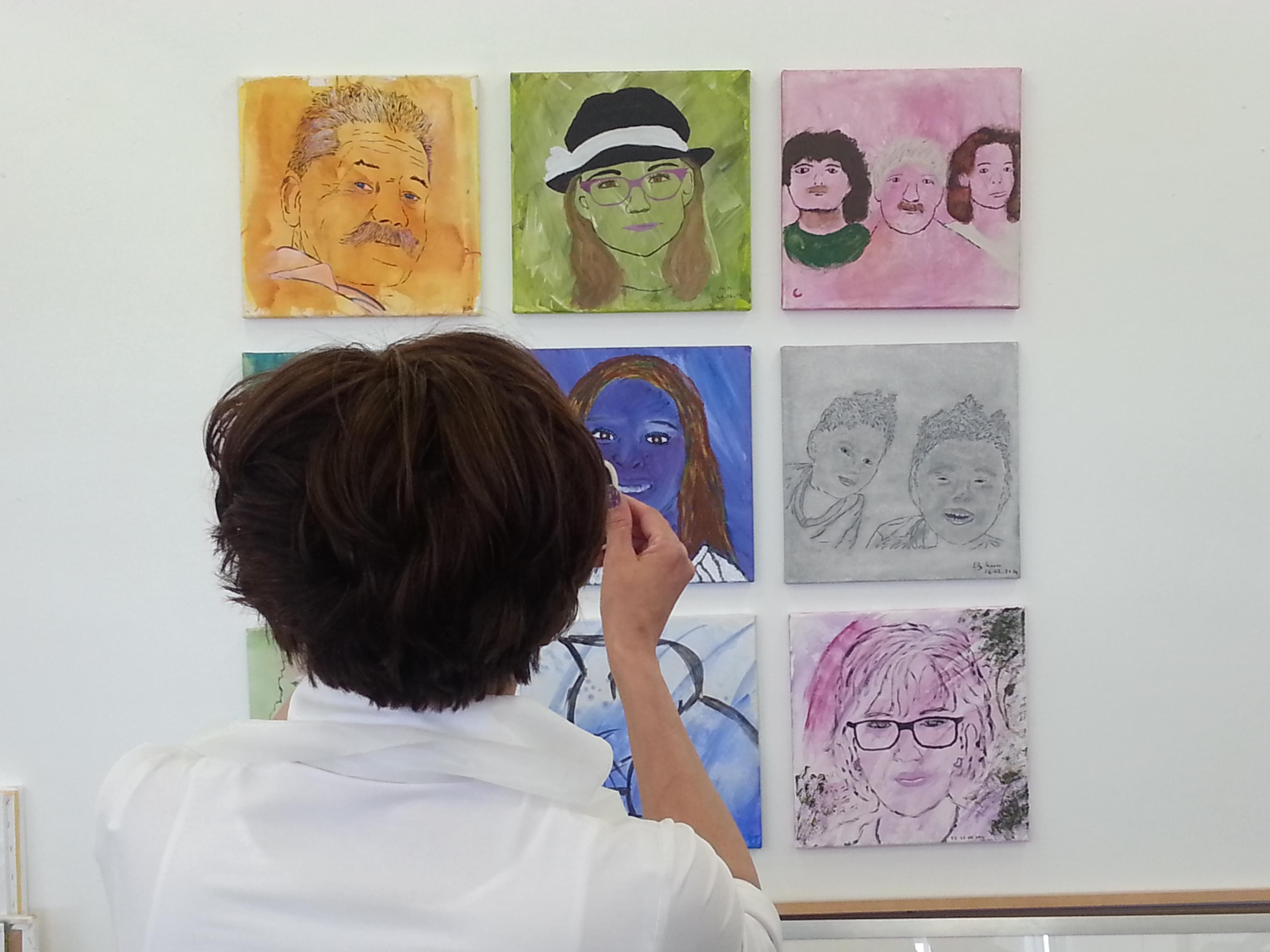 Workshop 'portrettengallerij'