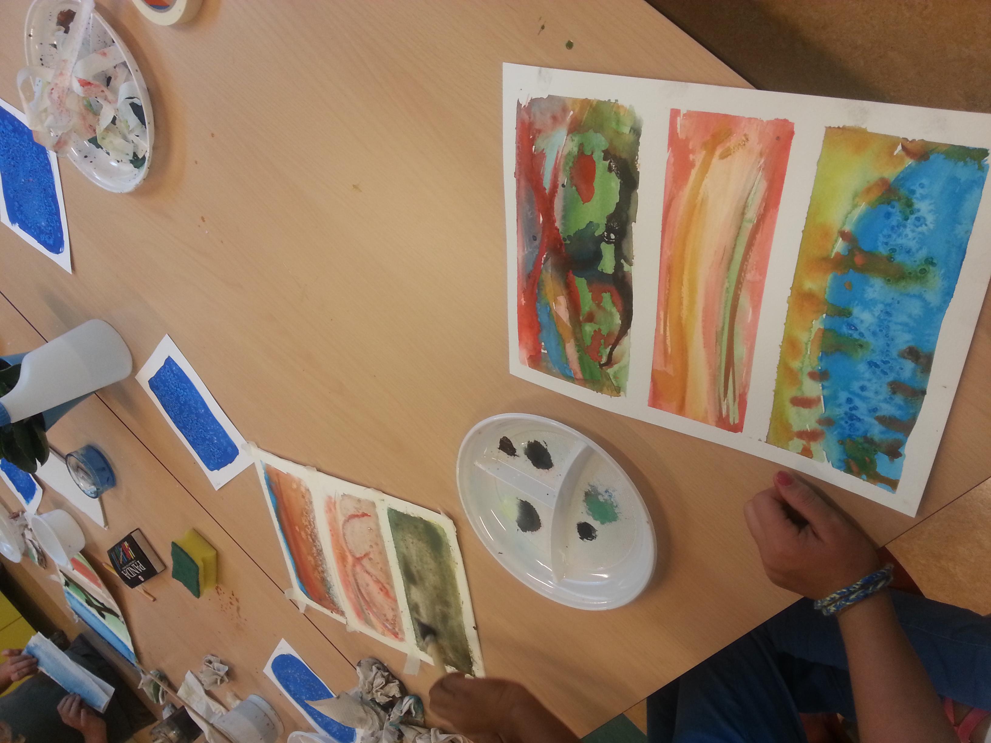 Aquarel basisschoolproject