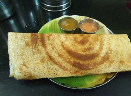 インド料理の朝食