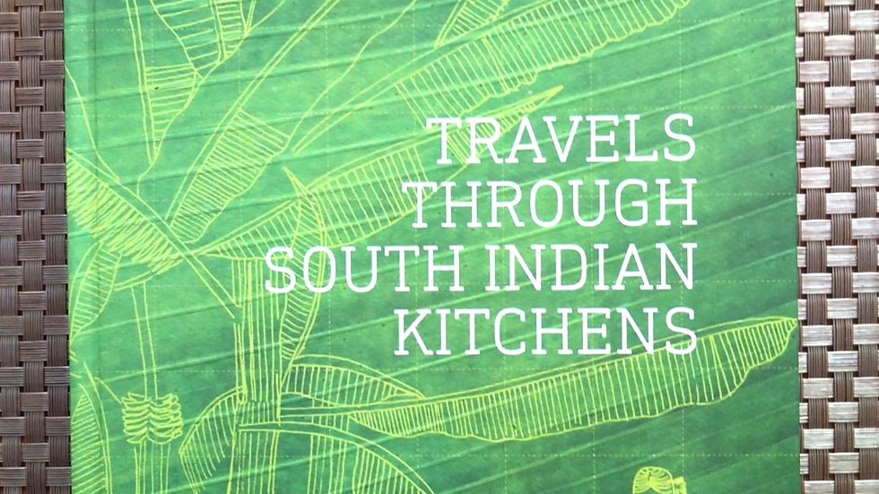 Travels through South Indian Kitchen