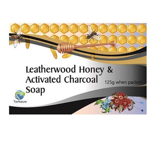 Leatherwood Honey & Activated Charcoal Soap