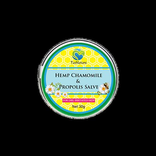 Hemp Chamomile & Propolis Salve