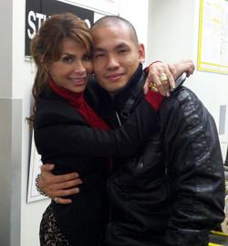 Me and Paula Abdul
