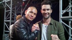 Me and Adam Levine