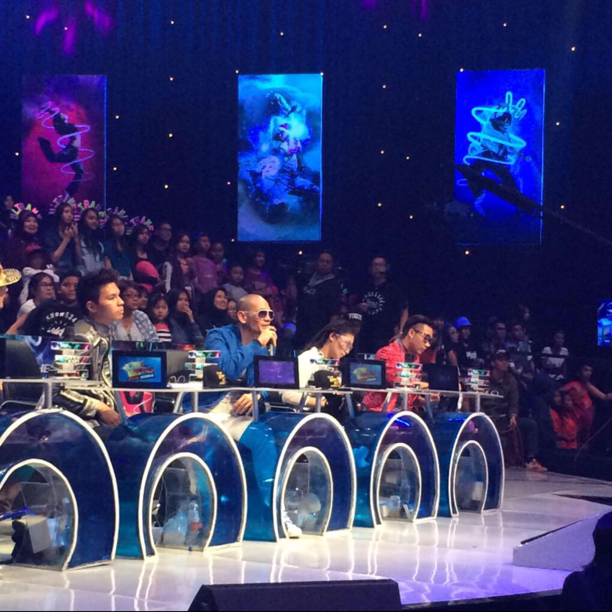 Judging on The Dance Icon Indonesia