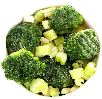 מיקס ירקות ירוקים 1 ק''ג
