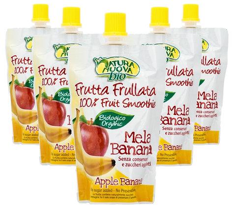 5 x סמוזי תפוח בננה אורגני