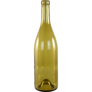 Wine Bottles - 750 mL Dead Leaf Green Burgundy - Case of 12