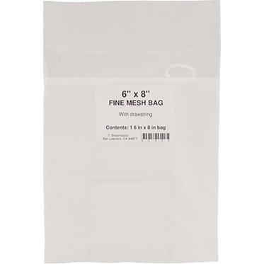 Bag - 6 in. x 8 in. Fine Mesh (Hop Bag) - Packaged
