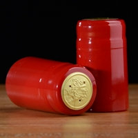 Holiday Red PVC Capsules 100 count