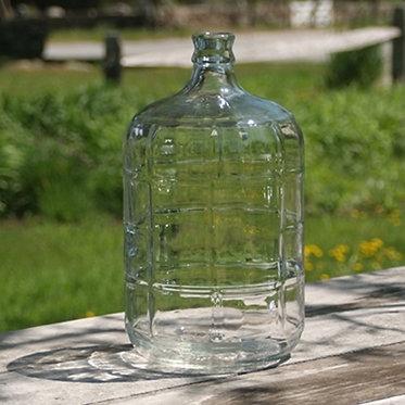 3 Gallon Glass Carboy