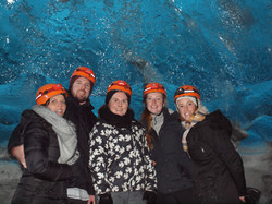 Ice cave tour in Iceland